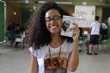 Estudante e jovem transformadora Midria Pereira