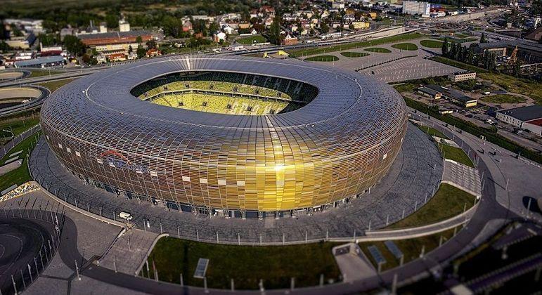 O Stadion Miejski, de Gdansk