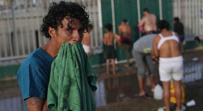 Os migrantes vão permanecer por tempo indeterminado em Tijuana
