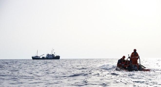 Entre os resgatados há duas mulheres, uma delas grávida