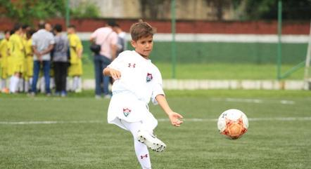 Menino Miguel jogou no Fluminense