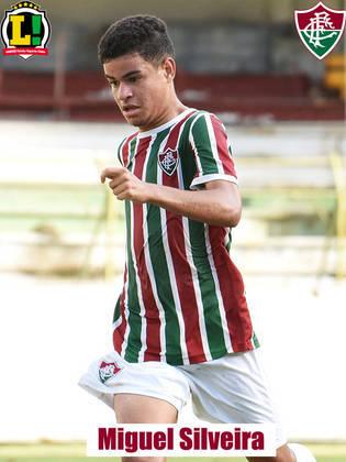 MIGUEL - 6,5 - Entrou no lugar de Luiz Henrique no segundo tempo. Participativo, Miguel deu mais velocidade ao meio-campo do Fluminense e ajudou na construção de jogadas da equipe no fim do jogo.