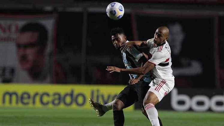 Miguel Borja - Clube: Grêmio - Disputou a Copa do Mundo de 2018 pela Colômbia