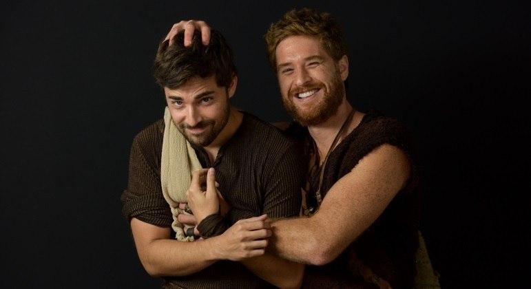 Miguel Coelho e Cirilo Luna vão interpretar os gêmeos Jacó e Esaú em Gênesis