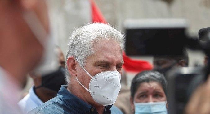 Presidente cubano acusou protestos de tentarem desacreditar governo