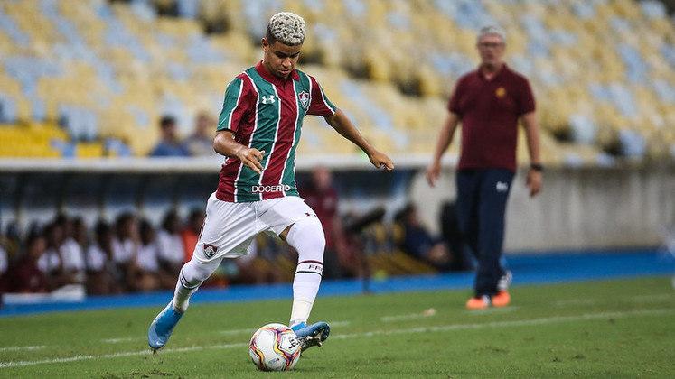 Miguel – Meio-campo – Fluminense – 18 anos – Contrato até junho de 2022 – Valor de mercado: 3 milhões de euros