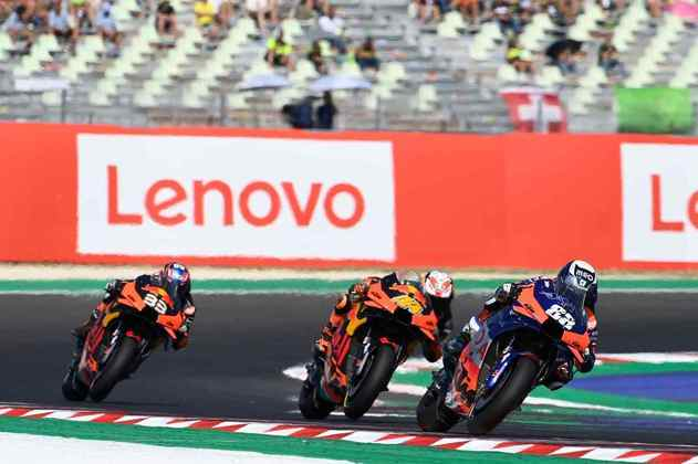 Miguel Oliveira cruzou a linha de chegada em 11º