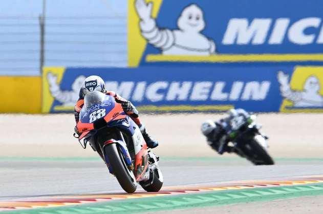 Miguel Oliveira é o décimo colocado