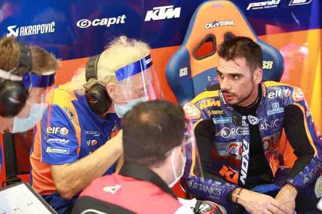 Miguel Oliveira foi a melhor KTM ao ficar em quinto