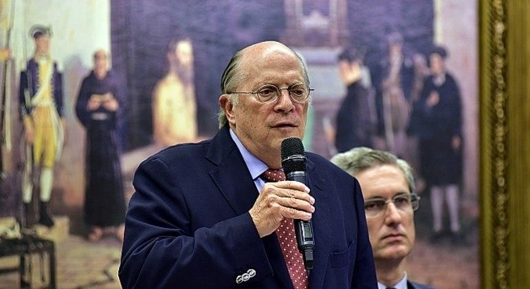 Miguel Reale Júnior na Câmara dos Deputados, em março de 2016