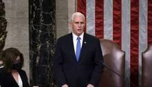 Mike Pence vai comparecer à cerimônia de posse de Joe Biden