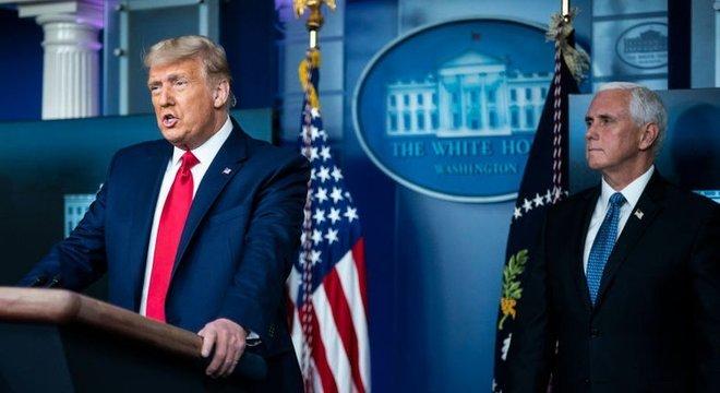 De acordo com vários analistas, a aposta original de Pence era se tornar o herdeiro político de Trump e sucedê-lo em 2024