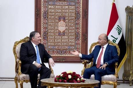 Pompeo faz visita surpresa ao Iraque