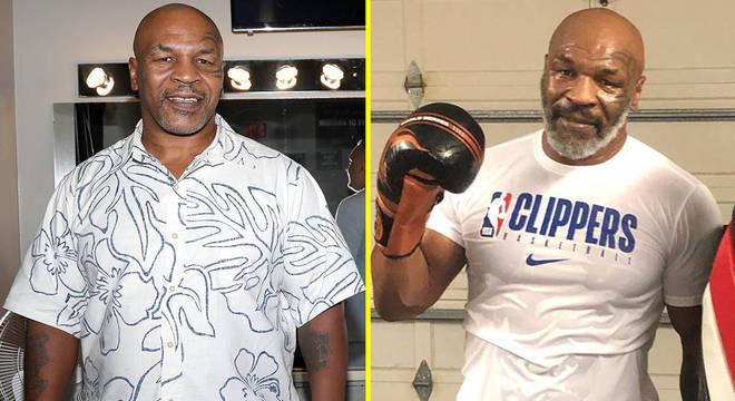 O antes e depois de Mike Tyson, que perdeu 60 quilos
