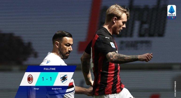 Milan, agora seis jogos sem vitória dentro de casa