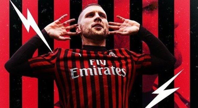 Milan 4 X 2, o fulminante Rebic
