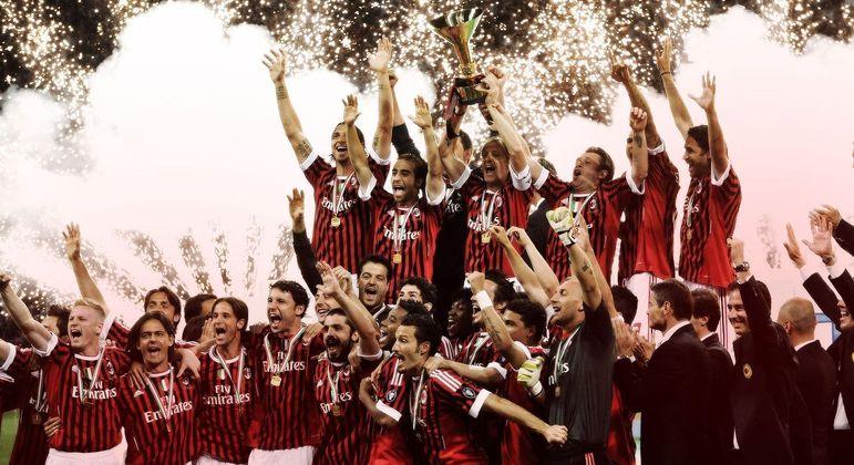 O Milan campeão de 2010/2011