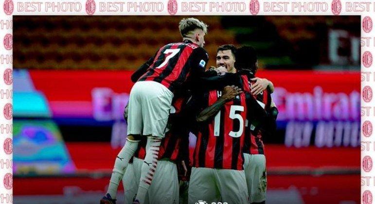 Milan, agora três pontos de vantagem sobre a Inter