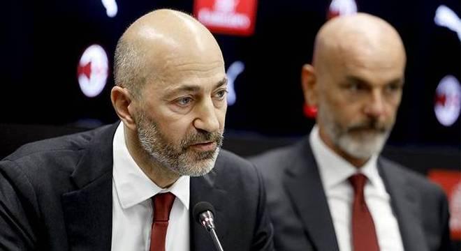 Ivan Gazidis e Stefano Pioli