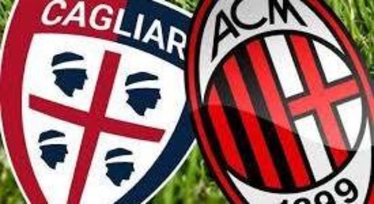 """Em Cagliari, na Sardenha, o Milan em busca do título simbólico de """"Campione d'Inverno"""""""