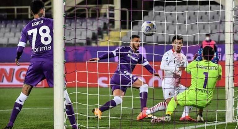 O momento do gol de Brahim Díaz