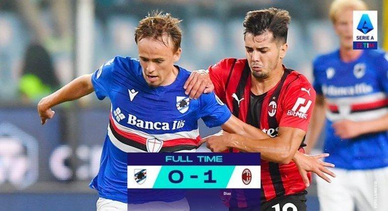 O Milan, placar apertado mas suficiente
