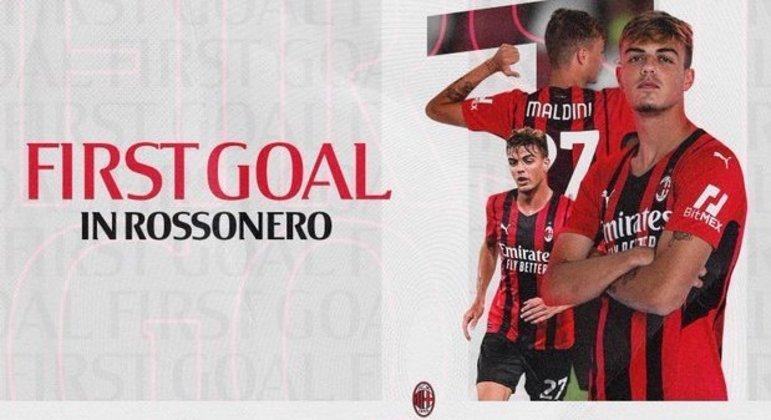 A homenagem do Twitter do Milan a Daniel Maldini