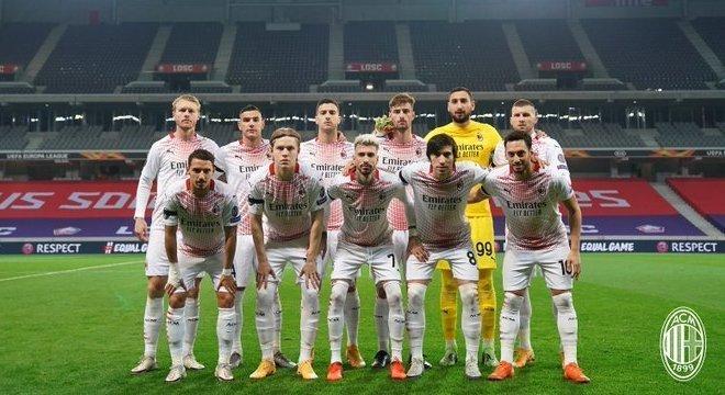 O Milan da Liga Europa, 1 X 1 em Lille, sem Ibrahimovic