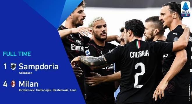 Milan, garantido na fase de grupos da Europa League