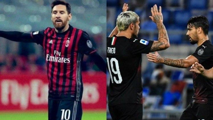 Milan - Donnarumma, Calabria, Romagnoli, Bonnaventura, Theo Hernandez, Kessié, Bennacer, Çalhanoglu, Rebic, Messi, Ibrahimovic. Técnico: S.Pioli.