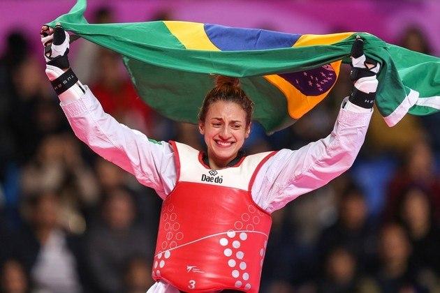 Milena Titoneli: em 2019, foi ouro no Pan e bronze no mundial. Na Olimpíada, ficou com a quarta colocação. Tem apenas 23 anos e é vista como promessa do taekwondo