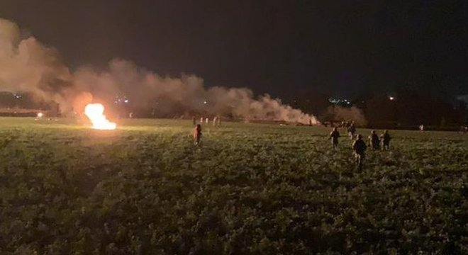 Centenas de pessoas tentavam furtar combustível quando a explosão ocorreu