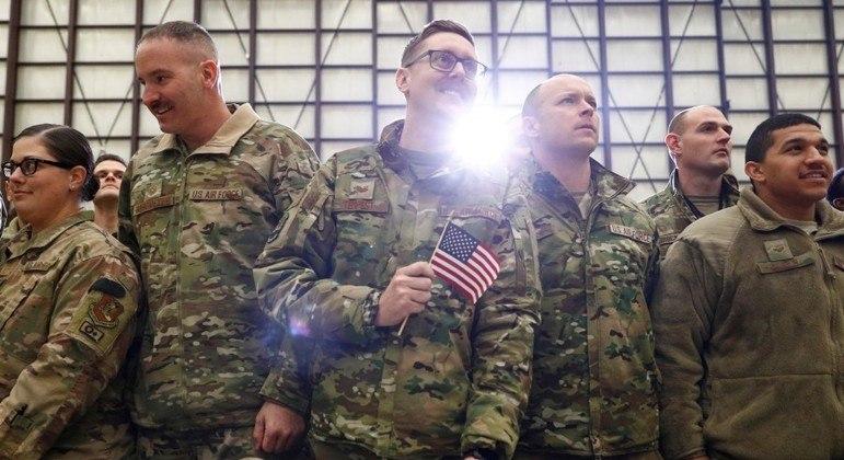 Tropas serão retiradas até o dia 11 de setembro