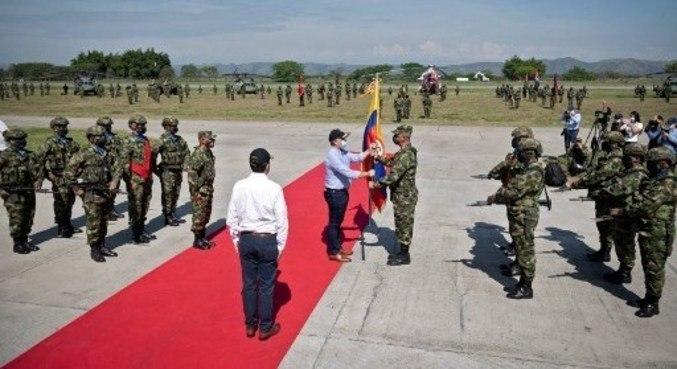 Comando vai perseguir última guerrilha ativa na Colômbia