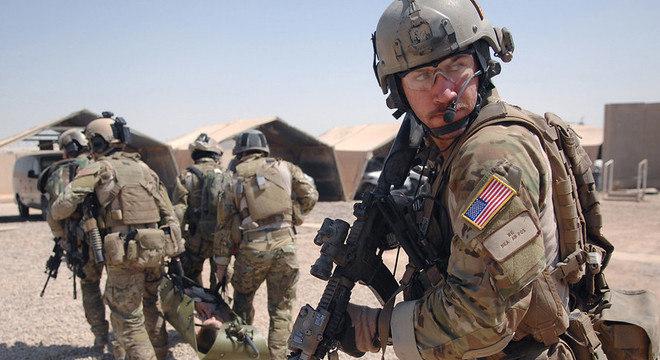 Militares foram deslocados para bases americanas já instaladas no Oriente Médio