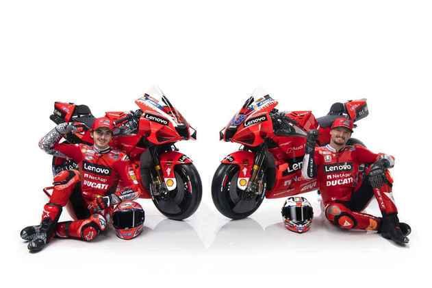Miller e Bagnaia trazem frescor para a Ducati