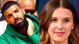 Millie Bobby Brown revela que o rapper Drake é seu conselheiro amoroso ()