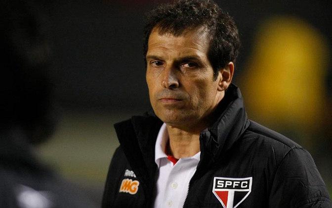 Milton Cruz (2005) - Após a saída de Leão, o interino comandou o São Paulo por três partidas.