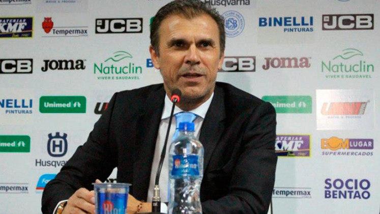 MILTON MENDES: No futebol brasileiro, Milton Mendes já treinou Vasco, Sport, entre outros, mas está sem clube desde que deixou o Marítimo, de Portugal, em março de 2021