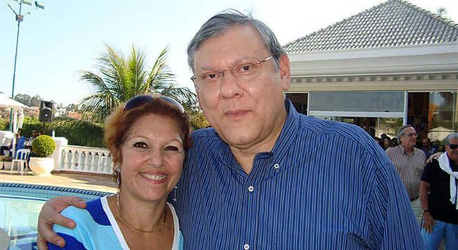 Milton Neves e Lenice está casados há 42 anos