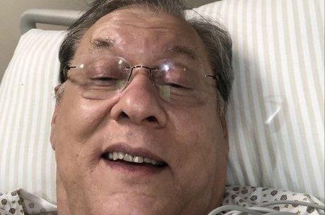 Milton Neves está hospitalizado em São Paulo