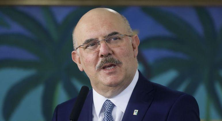 Ministro falou sobre a necessidade de retomada das aulas presenciais no Brasil