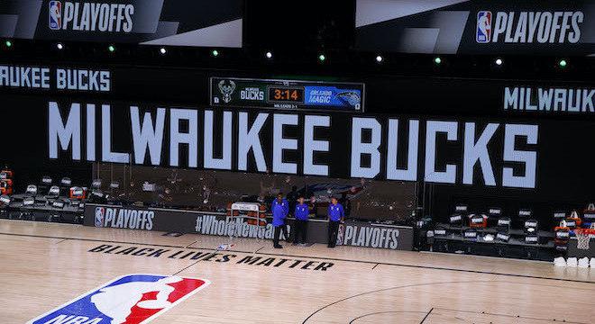 Milwaukee Bucks decidiu não entrar em quadra para jogo contra Orlando Magic