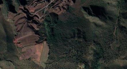 Mina Casa Branca fica na região de Brumadinho
