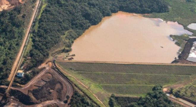 Barragens ficam próximas ao distrito de Macacos, em Nova Lima (MG)