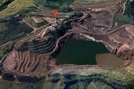 Barragem fica em Nova Lima, na Grande BH