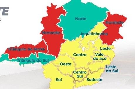Mais da metade das regiões está na Onda Amarela