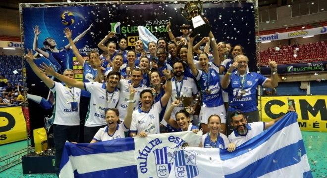 Campeão da última Superliga, Minas é um dos favoritos nesta temporada
