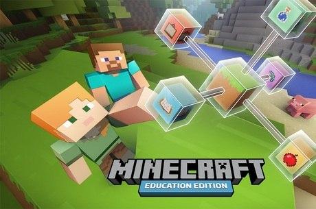 Minecraft tem sido usado em sala de aula