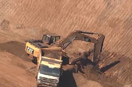 Empresas simulavam terraplanagem para poderem minerar